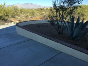 Driveways, stucco and walls